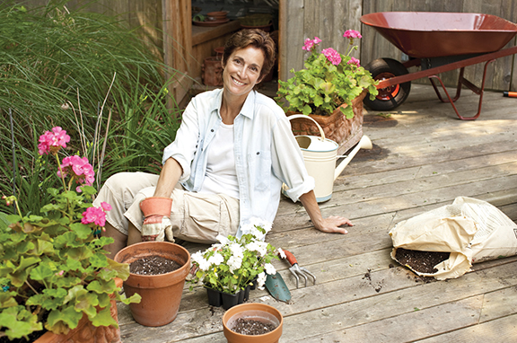 Stay safe when gardening in hot weather