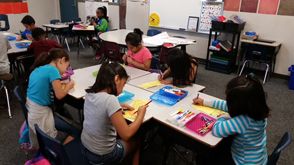 <strong>Jacob Wiens students send cards  to hurricane-ravaged Houston school</strong>