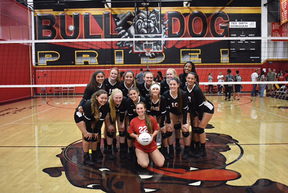 <strong>Bulldog  volleyball girls spike Tigers</strong>