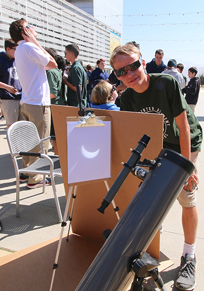 <strong>Solar eclipse learning event  at Western Center Academy</strong>