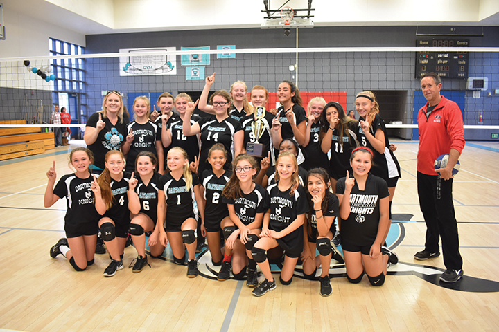 <strong>Middle school volleyball championships</strong>