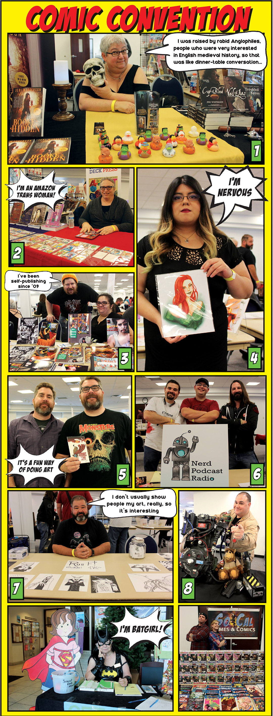 <strong>For the first time a comic convention hosted in Hemet</strong>