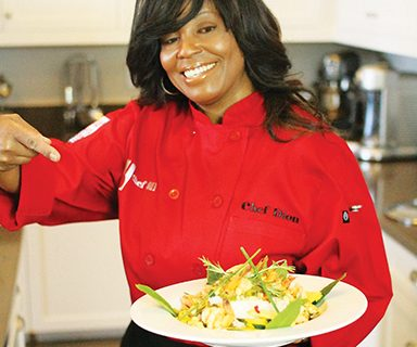<strong>Seniors learn healthy  COOKING</strong>
