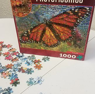 <strong>Puzzle partners at the San Jacinto Community Center</strong>
