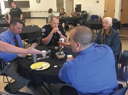 <strong>Salvation Army hosts Hemet's first responders to breakfast</strong>