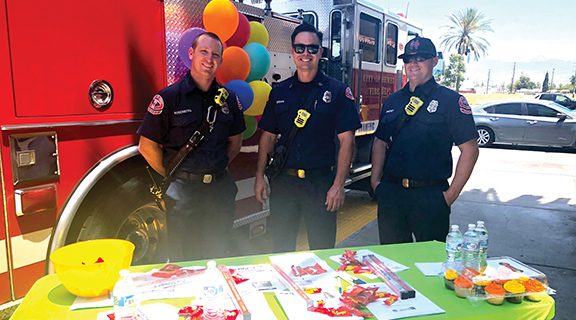 <strong>Local firefighters advocate emergency preparedness</strong>