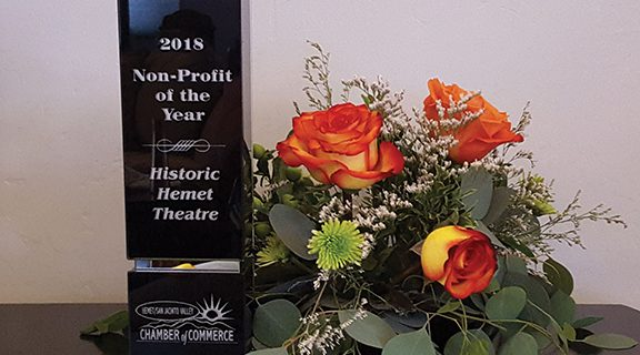 <strong>Chamber Nonprofit Award presented to HHT</strong>