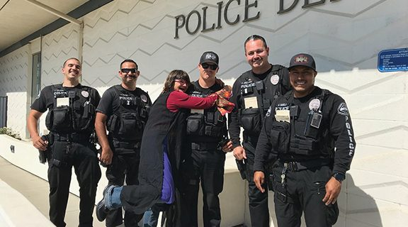 <strong>Hemet Police, Valley Restart reunite homeless woman with lost family</strong>