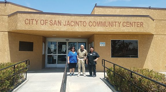 <strong>New council for San Jacinto Community Center installed</strong>