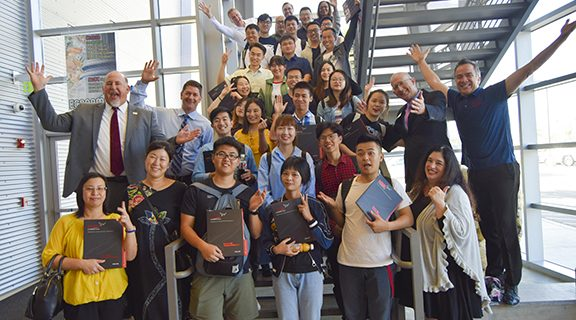 <strong>Chinese exchange students tour MSJC</strong>