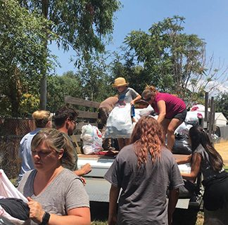 <strong>Community supports  families affected by fire</strong>