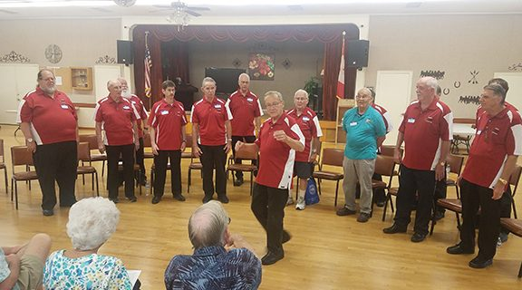 <strong>Hemet Harmonizers serenade seniors at Heritage Ranch</strong>