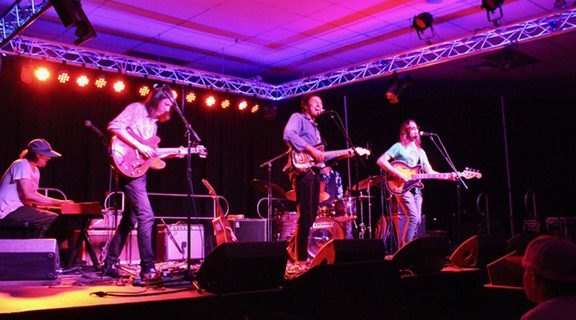 <strong>Hot day turns into a hot night at Derby's</strong>