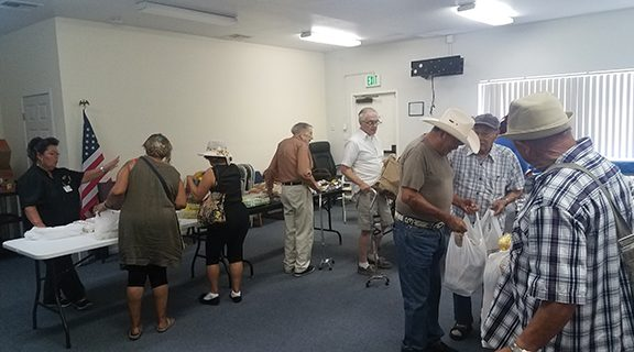 <strong>Seniors 'raffle' for lunch</strong>