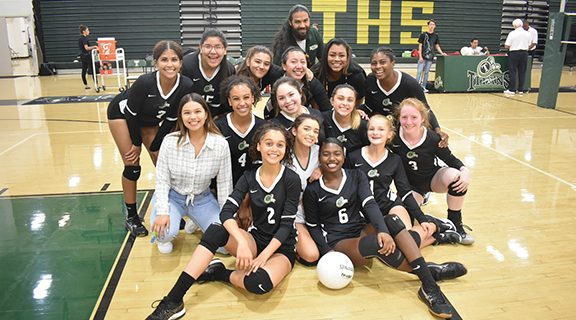 <strong>Lady Titans fend off the Lancers</strong>