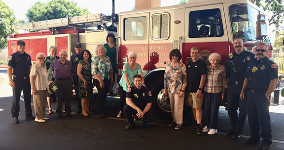 <strong>First responders appreciation at The Village</strong>