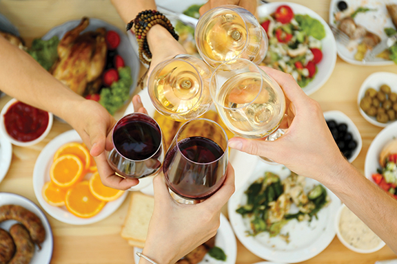 Fall wine and food tips for outdoor entertaining