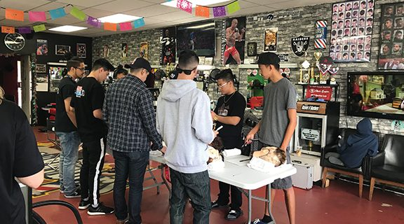 <strong>Barbers and razors create new opportunities in Hemet</strong>