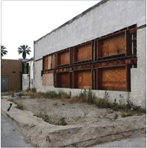 <strong>OPINION: Hemet's once-proud Gibbel Building sinks ever lower</strong>