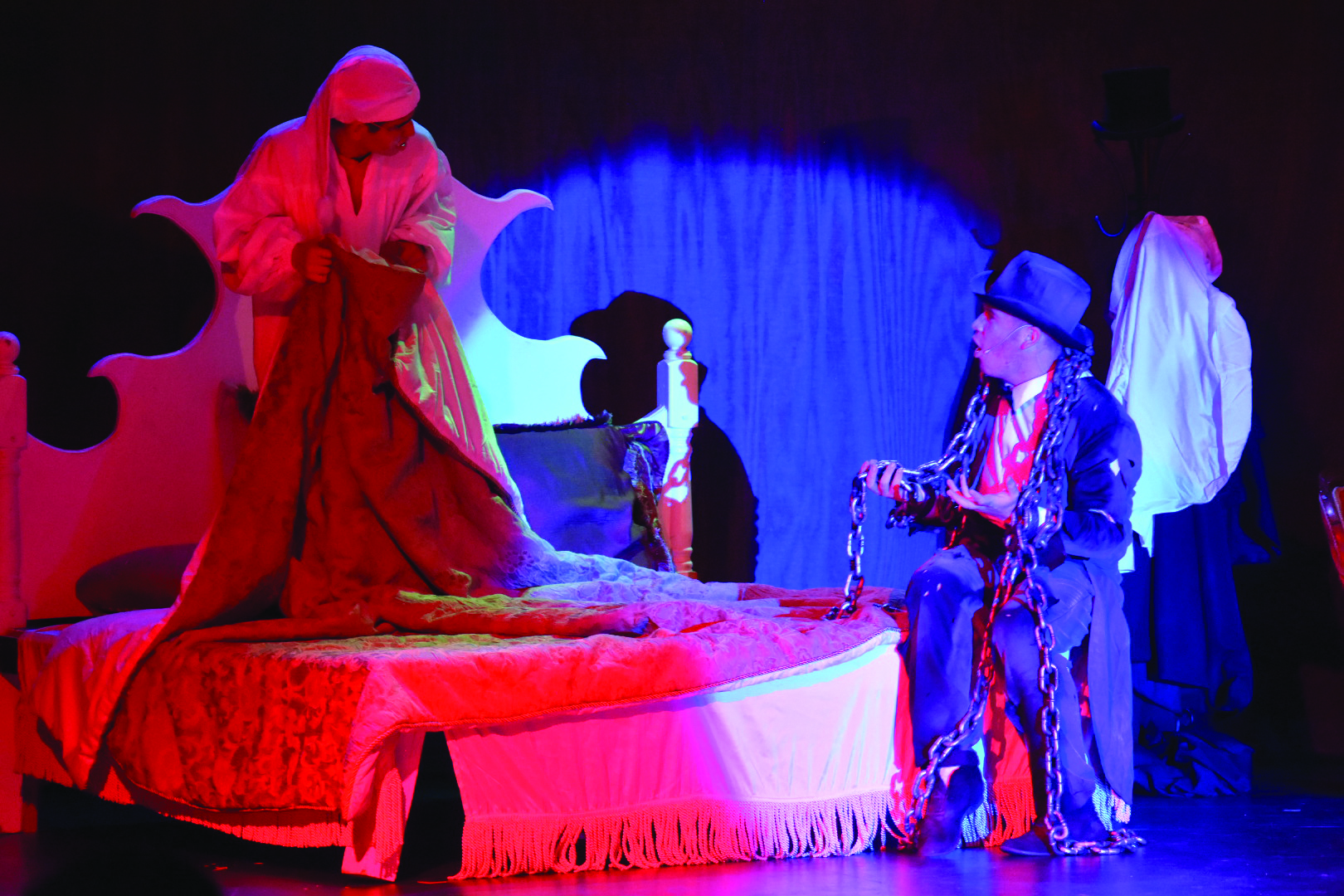 Scrooge comes to West Valley