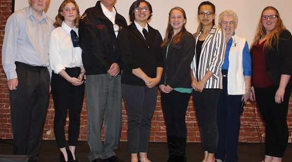 <strong>Sunset Rotary announces speech contestant winners</strong>