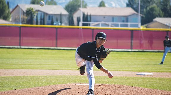 <strong>Mustangs' batters show promise</strong>