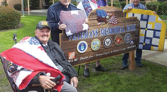 <strong>Elks Lodge, Home Depot recognize Hemet veterans</strong>