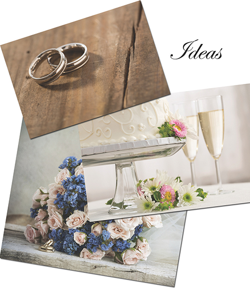 Inspiration boards bring wedding plans to life