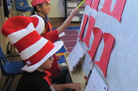 <strong>Soboba students celebrate Dr. Seuss birthday</strong>