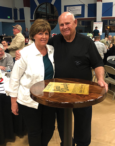 Respected Valley-Wide board member honored