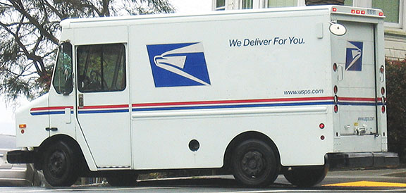 Drunk driver hits U.S Mail truck, one victim hospitalized