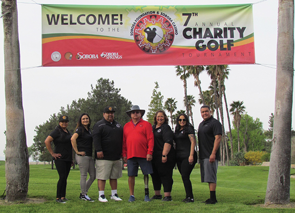 Soboba holds charity golf tournament