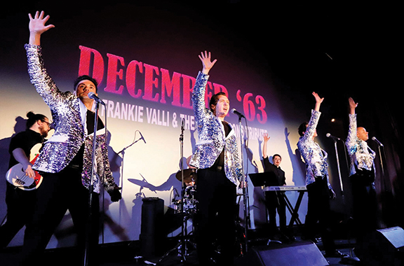Tribute to Frankie Valli is latest sellout at HHT