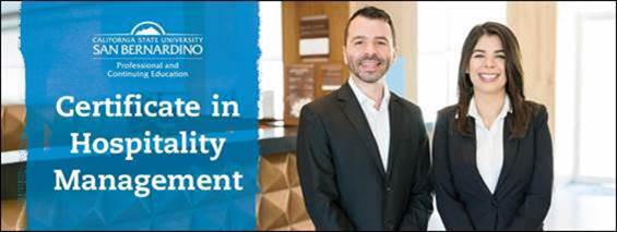 CSUSB Palm Desert Campus offering online hospitality management certificate to meet local demand